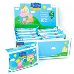 Toallitas WC Junior Peppa Pig
