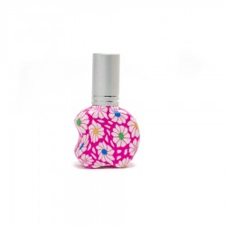 Perfumador 8ml -MANZANA- con spray plata mini
